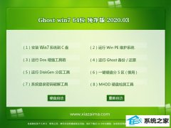 老毛桃Windows7 清爽纯净版64位 v2020.03